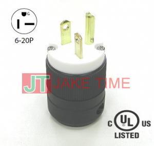 NEMA 6-20P 美規直片式插頭
