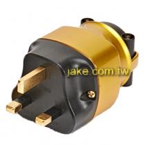 金色烤漆,碳纖維外殼,鍍金英規音響級電源插頭