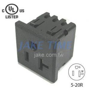 NEMA 5-20R 美規機櫃1U插座