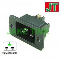 Audio Plug C20 鍍金歐規音響級電源插頭