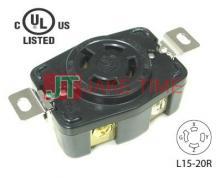 NEMA L15-20R 美規引掛式暗插座